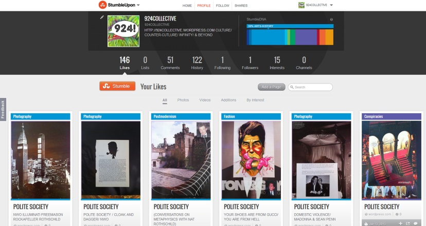 924COLLECTIVE ON STUMBLEUPON