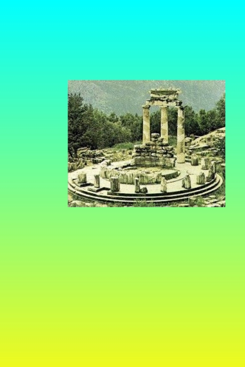 THE ORACLE AT DELPHI