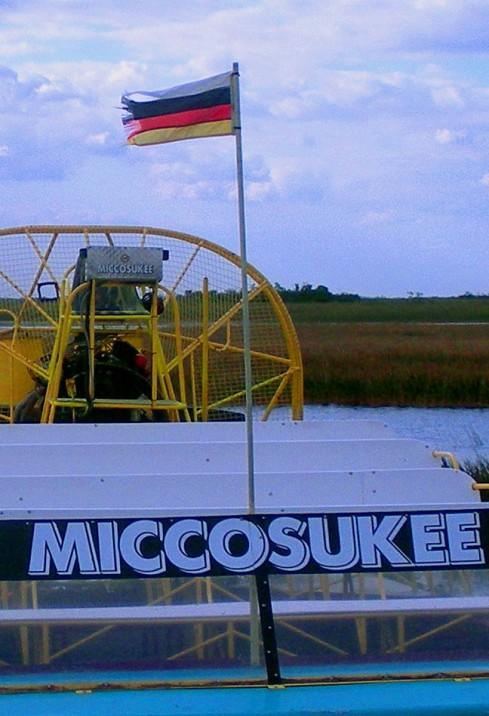 MICCOSUKEE FLAG