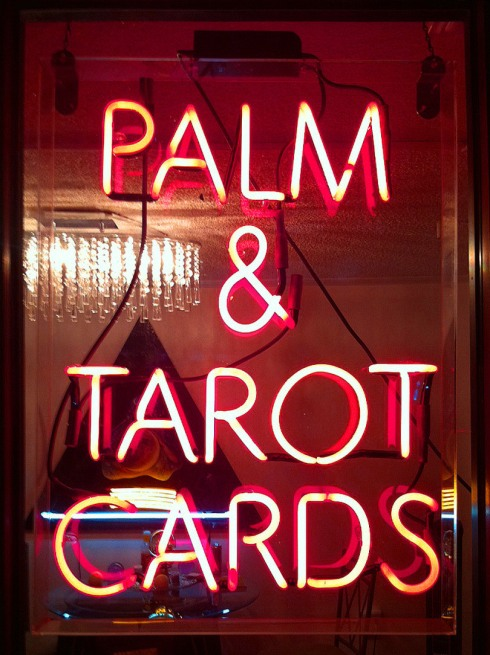 PALM AND TAROT