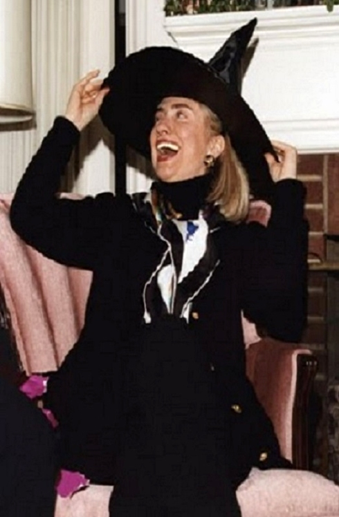 HEAD WITCH HILLARY