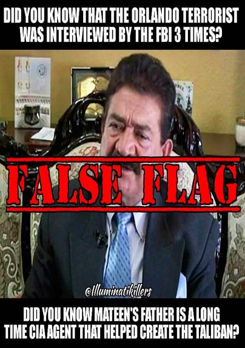 FLASE FLAG TERROR