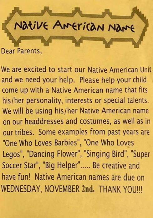 NATIVE NAMES
