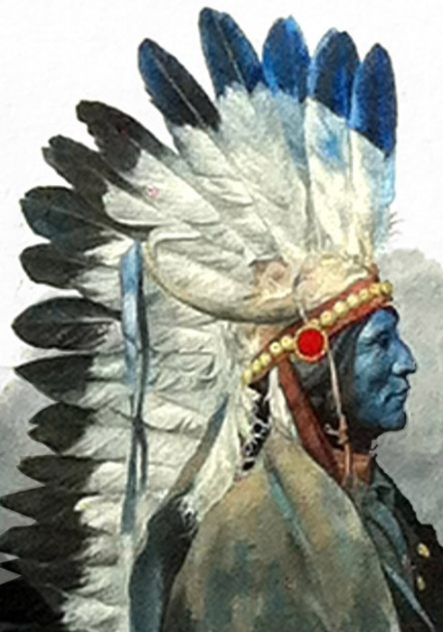 NATIVE LEADER